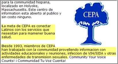 CEPA program