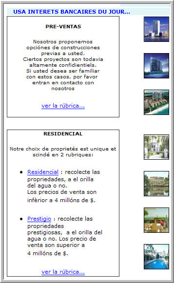 Active Invest Miami Spanish home page